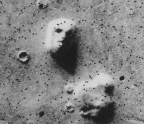 Y a-t'il eu de la vie sur Mars ? Faceod10