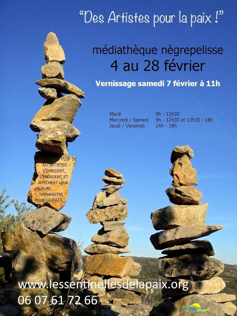expo artistes pour la paix Montauban et Negrepelisse 82 Nydcgr11