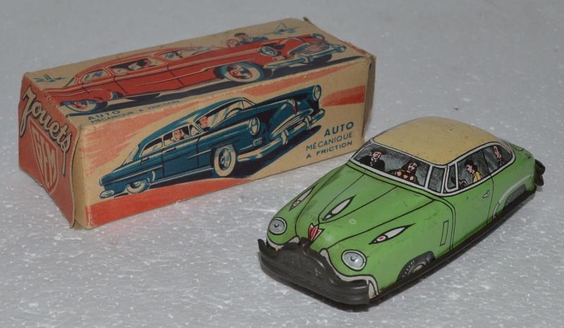 voitures américaines en jouet made in Marseille Voitur12