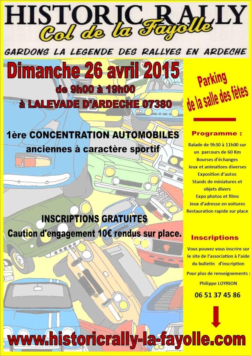 [07] 26/04/2015 1ère expo de voitures sportives à Lalevade  Affich11
