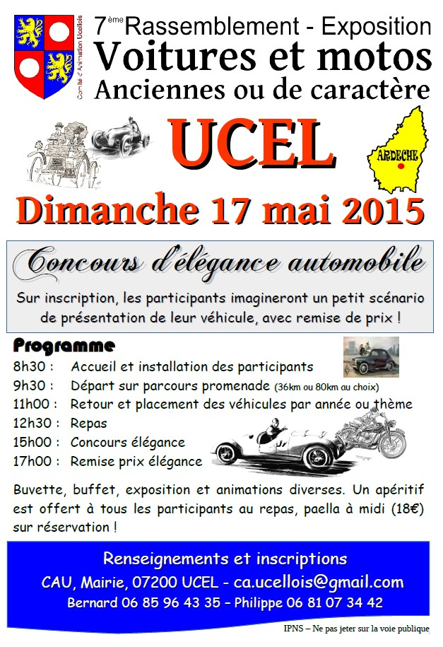 [07] 17/05/2015 - Ucel (07) 7ème Rassemblement voitures Flyer_10