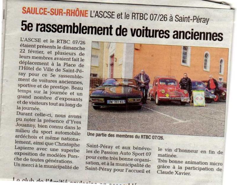 [07] 22/02/2015 - 5ème rassemblement autos à St Péray - Page 4 Img14310