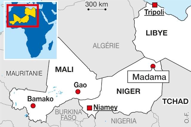 Madama (Niger) : l'armée française reprend son vieux fort des sables Image-11