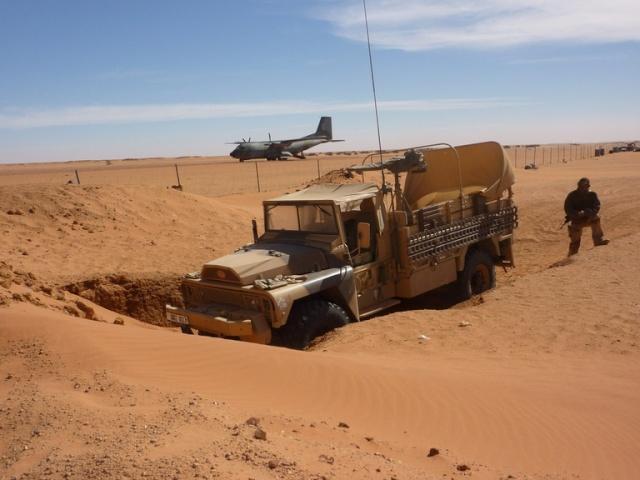 Madama (Niger) : l'armée française reprend son vieux fort des sables Image-18
