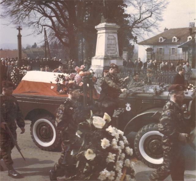 JACQUOT Philippe mort le 14 février 1962 à Oran - s/lieutenant 18e RCP Putsch Alger - 21e RI rejoint l'OAS Obsequ10