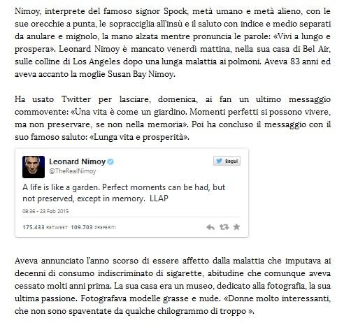 Addio a Leonard Nimoy Spock10