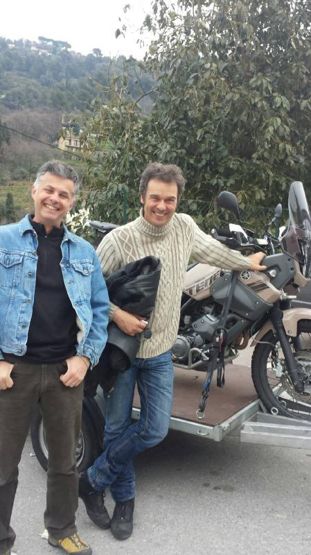 Visite de moto sur Nice Poc110