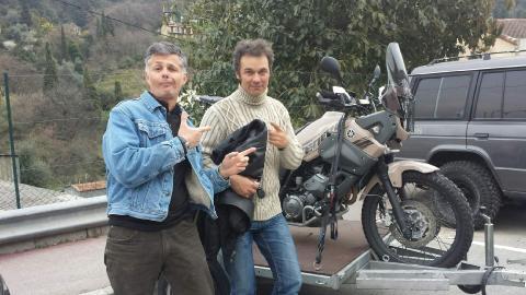 Visite de moto sur Nice Poc210