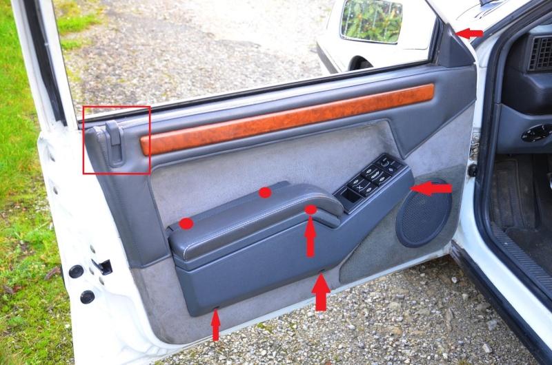 [TUTO] démontage garniture de porte Renault 25 08_210