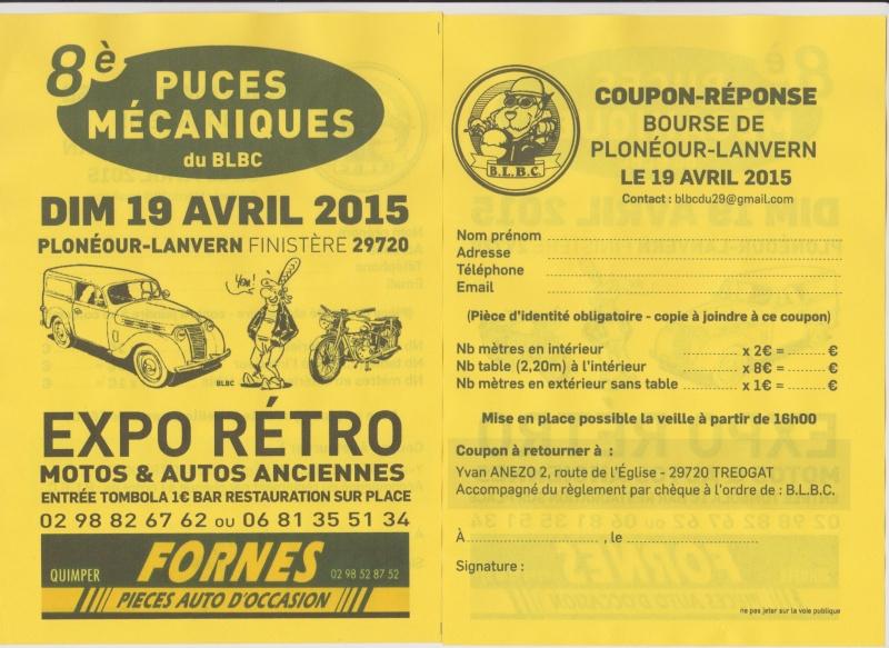 PUCES MECANIQUES PLONEOUR LANVERN DEP 29 19/04/2015 Flyer_11