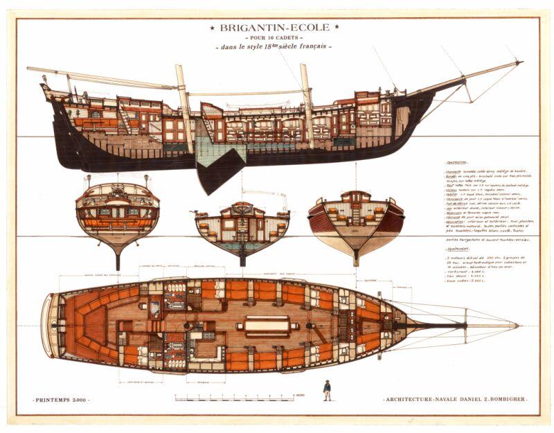 L'UNION, brigantin au 1/100e  Constructo Brigan11