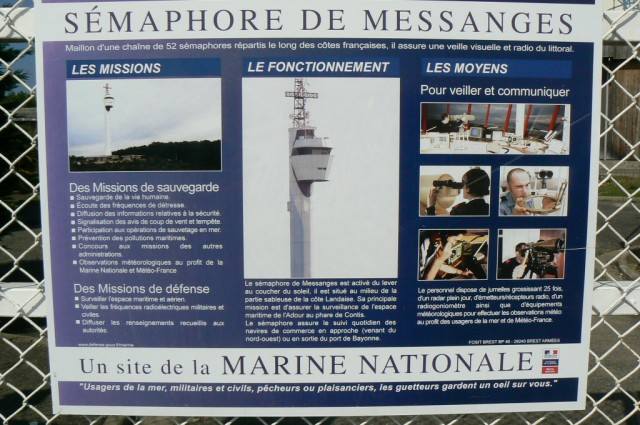 SÉMAPHORE - MESSANGES (LANDES) P1070011