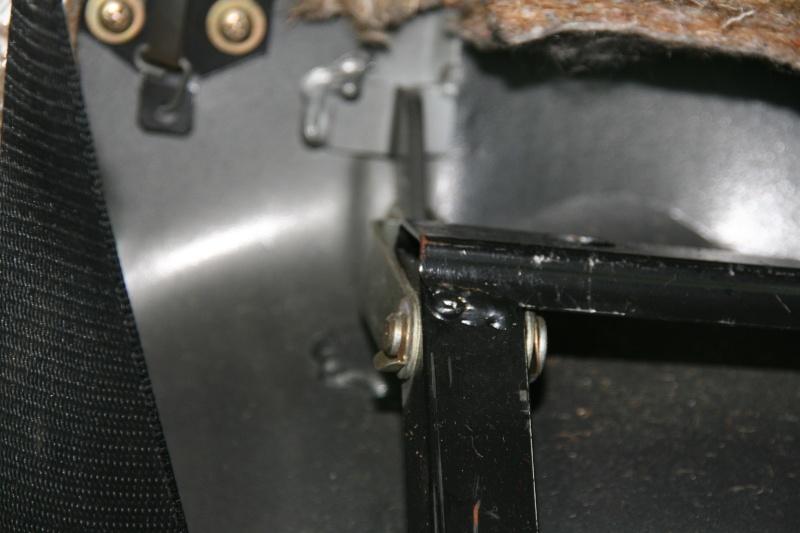 Démontage dossier électrique W126 300sel18