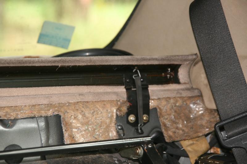 Démontage dossier électrique W126 300sel19