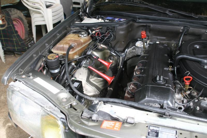 Démontage dossier électrique W126 300sel21