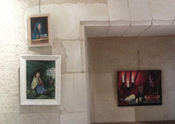 Exposition à Vihiers au château de Monpassant ...... Vihier10