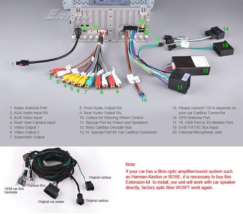 remplacement autoradio par erisin Es950710