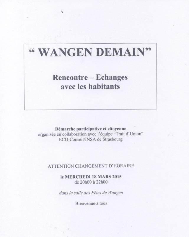 """""""Wangen demain"""" les mercredis 11 et 18 mars 2015 salle des fêtes de Wangen de 18h à 20h avec l' équipe """" Trait d'Union"""" ECO-Conseil/INSA de Strasbourg  Image030"""