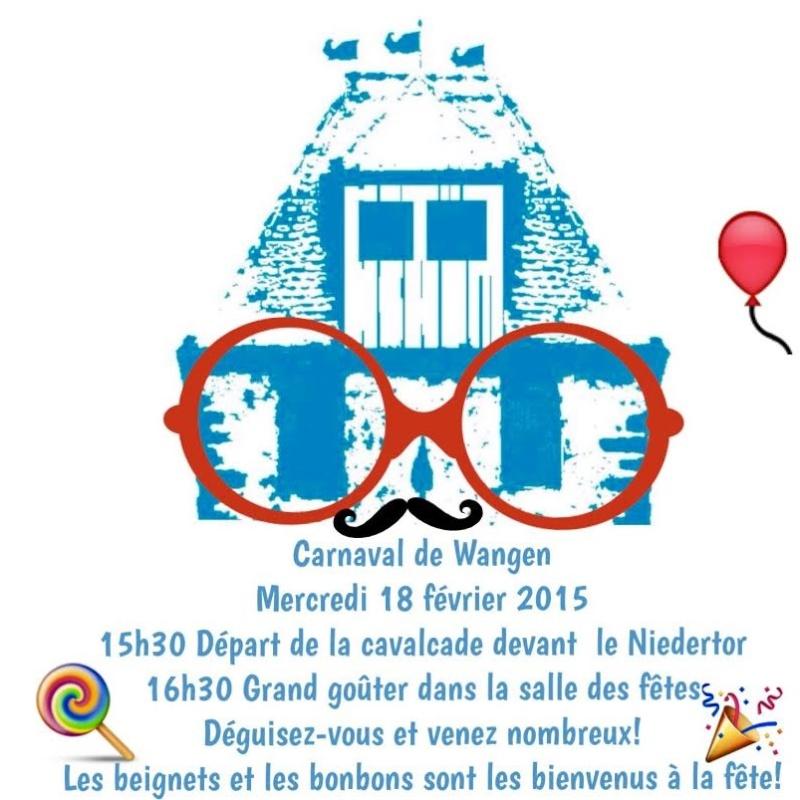 Carnaval de Wangen, mercredi 18 février 2015 à partir de 15h30 devant le Niedertor. Unname15