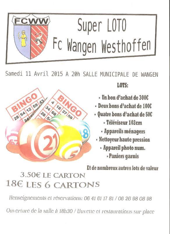 Super Loto du FC Wangen-Westhoffen samedi 11 avril 2015 à 20h, salle des fêtes de Wangen Unname21