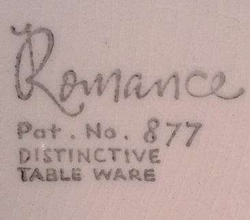 Romance Pat.No.877 Romanc12