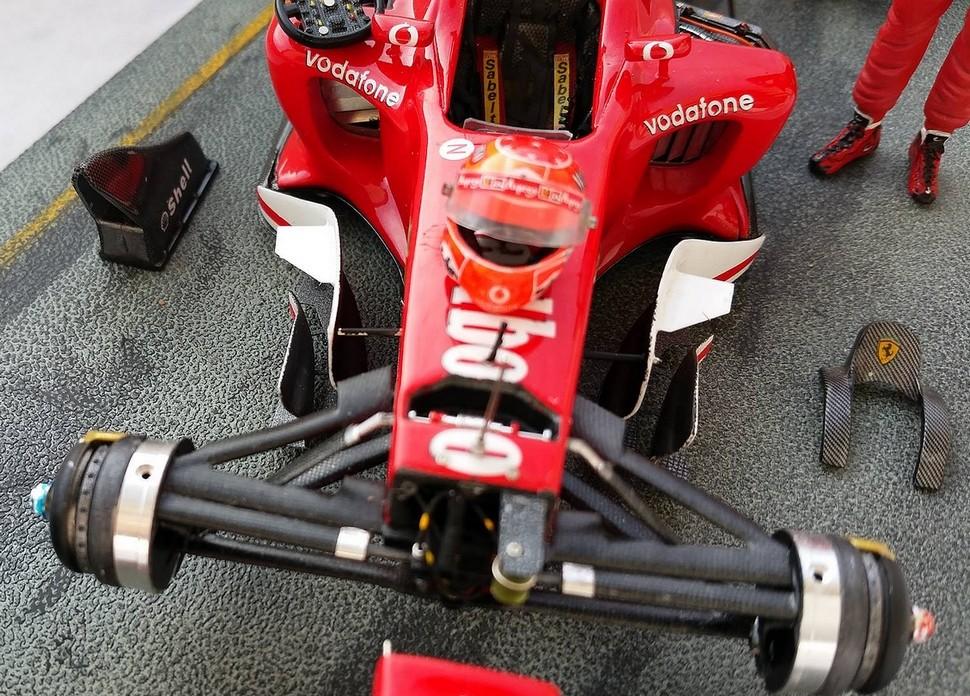 Ferrari F1 2003 GA 1/20 Model Factory Hiro 10906610