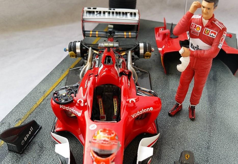 Ferrari F1 2003 GA 1/20 Model Factory Hiro 10956510
