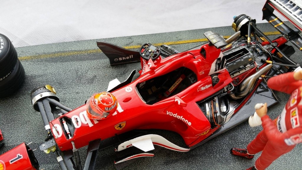 Ferrari F1 2003 GA 1/20 Model Factory Hiro 10956910