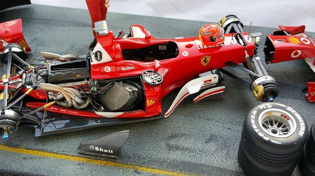 Ferrari F1 2003 GA 1/20 Model Factory Hiro 10960511