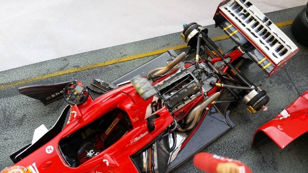 Ferrari F1 2003 GA 1/20 Model Factory Hiro 10960512