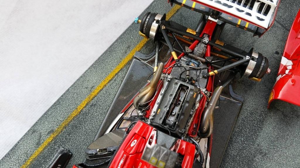Ferrari F1 2003 GA 1/20 Model Factory Hiro 10965110