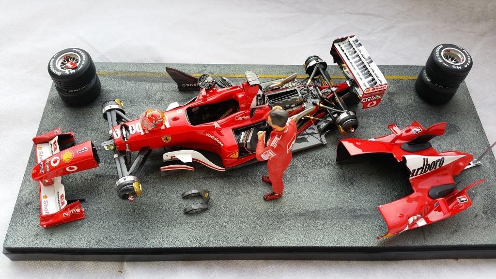 Ferrari F1 2003 GA 1/20 Model Factory Hiro 10969211