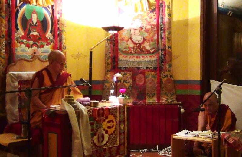 Khenchen Pema Sherab en France et en Belgique 20121010