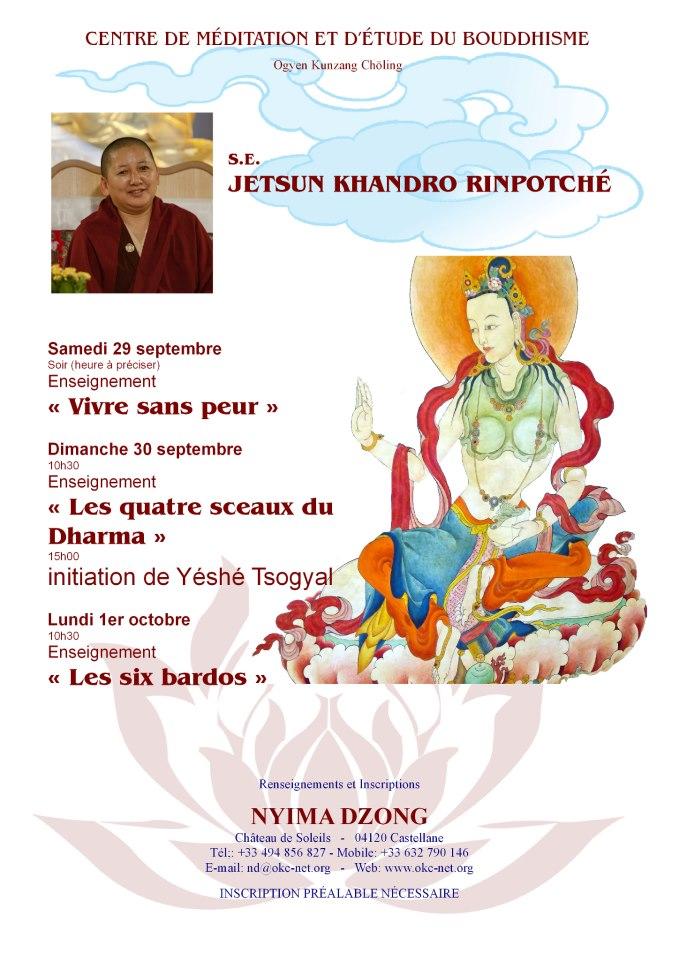 Jetsun Khandro Rinpoché à Nyima Dzong - Page 2 59886210