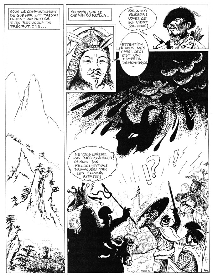 Une BD...de mes cartons et Guesar de Ling - Page 7 Guesar12