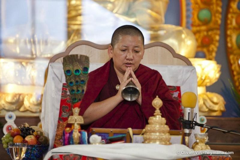 Jetsun Khandro Rinpoché à Nyima Dzong Jk310