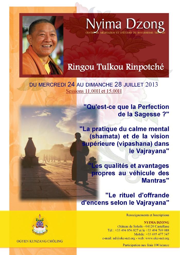 RINGU Tulku à Nyima Dzong été 2013 Ringou10