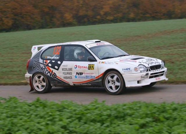 toyota corolla  rally ypres cats 2005 (hommage) Hosten10