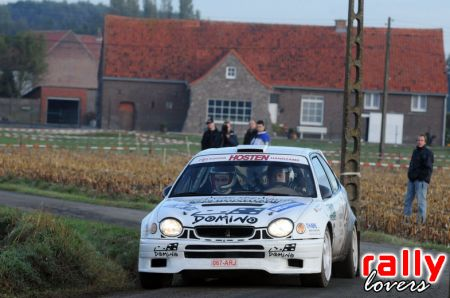 toyota corolla  rally ypres cats 2005 (hommage) Rallyl10