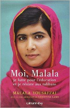 MOI, MALALA, JE LUTTE POUR L'ÉDUCATION ET JE RÉSISTE AUX TALIBANS de Malala Yousafzai 51g0l910