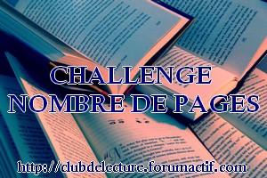 Challenge NOMBRE DE PAGES 2015 Challe11