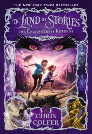 THE LAND OF STORIES (Tome 2) THE ENCHANTRESS RETURNS de Chris Colfer Land_o10