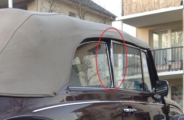 Problèmes de vitres écartées Vitre210