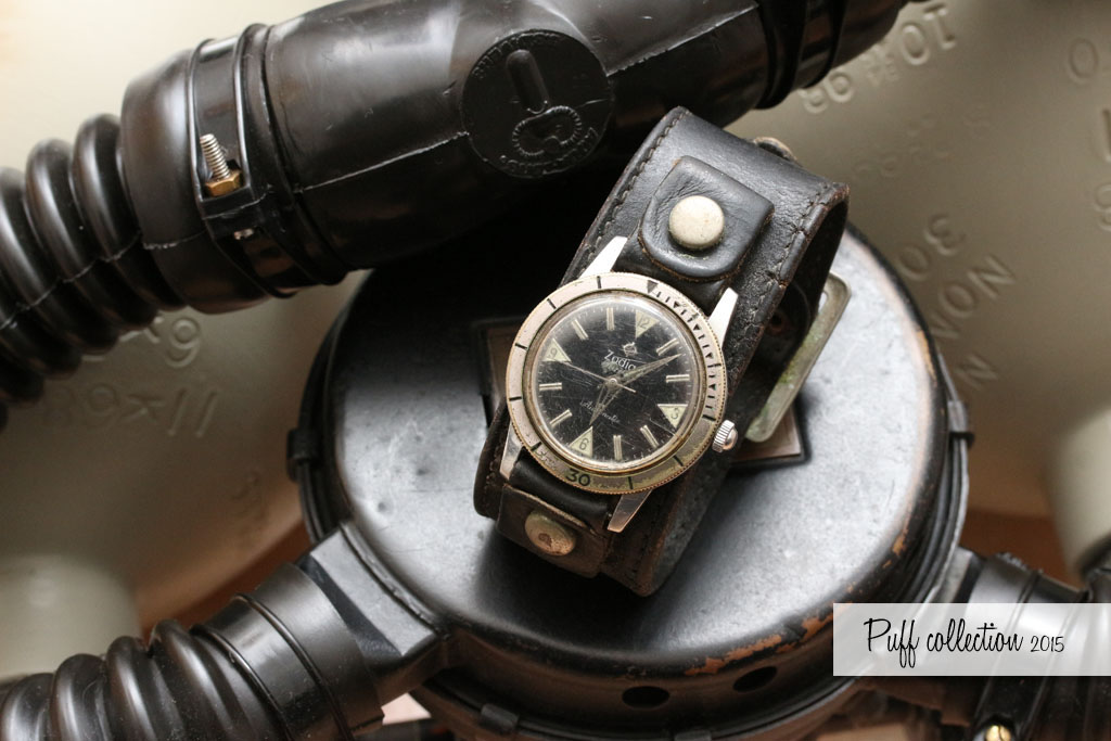 Zodiac Seawolf & leather band Vietnam PX purchase Zodiac13