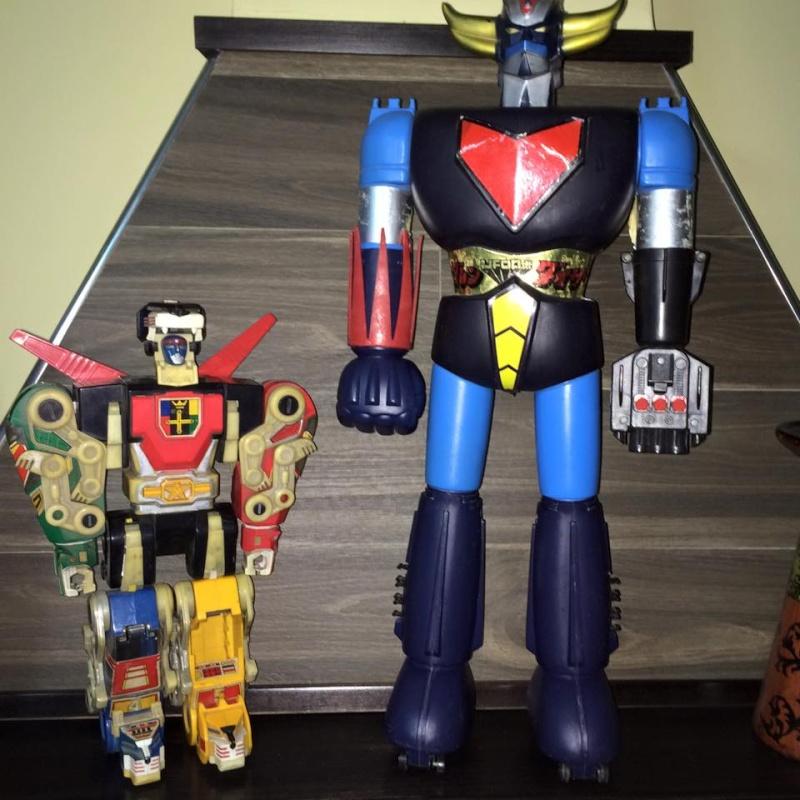 Goldrake Goldorak Atlas Ufo Robot Jumbo Shogun Voltron Panosh anni 70 80 toys Voltju10