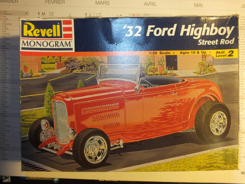Revell Ford 32 Highboy plus details Dscf0013