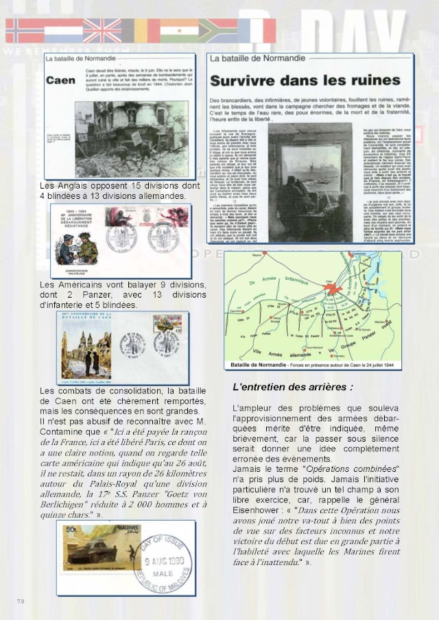 LA REVUE n° 184-185 2-3-4ème TRIMESTRE 2014 DEBARQUEMENT DE NORMANDIE Page_710
