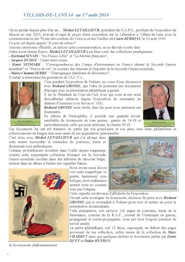 LA REVUE n° 184-185 2-3-4ème TRIMESTRE 2014 DEBARQUEMENT DE NORMANDIE Pages_10