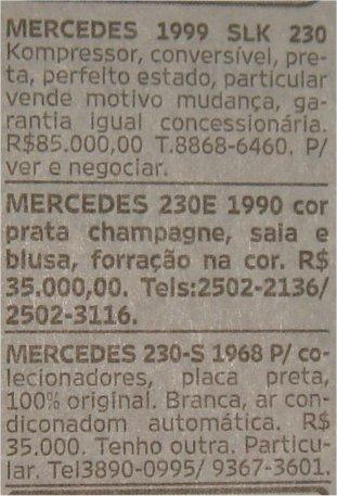 Classificados O Globo 13set8 230s 1968 E Outras