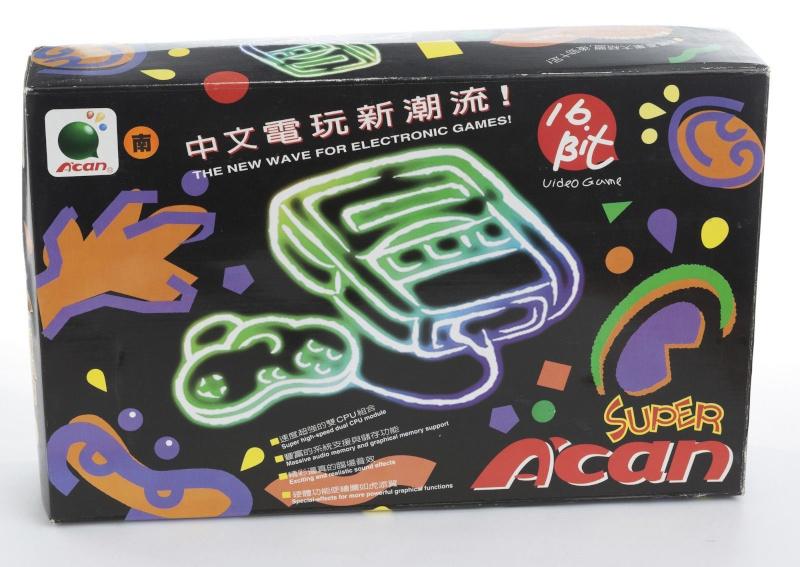 [Console]  Super A'can (Funtech Entertainment Corp) 1995. 0113